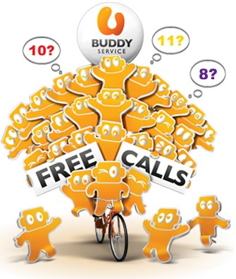 U Mobile's U Buddy service charges RM10 for Free Calls