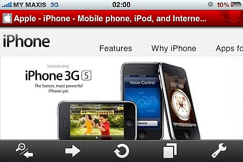 iPhone: World's #3 most popular mobile phone running Opera Mini. Beats Blackberry by some margin