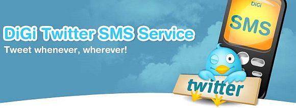 DiGi's Twitter SMS Service