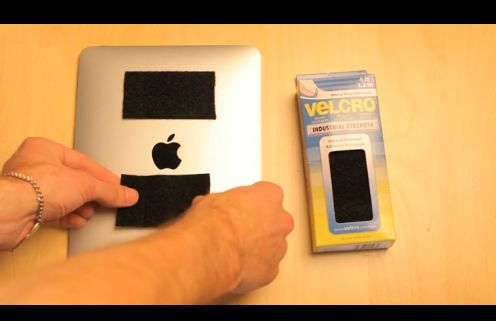 Video: iPad Anywhere with Velcro