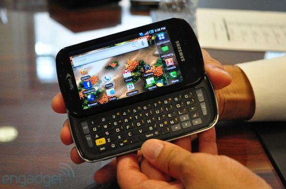 Samsung Epic 4G Slider WiMAX smartphone