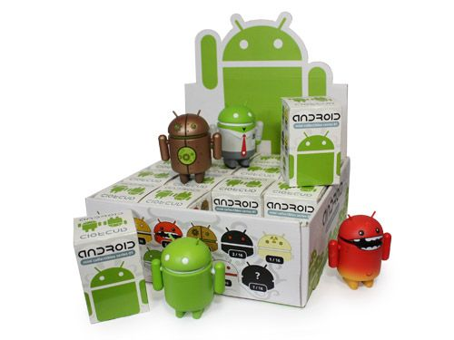 Show your Android Love with DIY Android Figurine