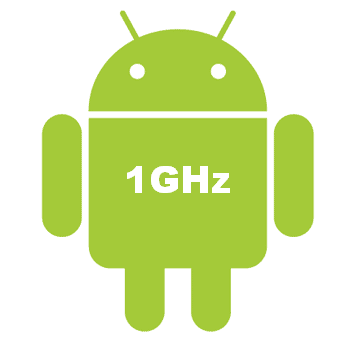 Android Gingerbread spots new UI and requires min 1GHz?