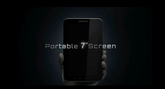 VIDEO: Samsung Galaxy Tab official teaser