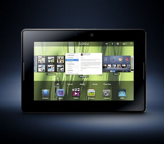 BlackBerry unveils it's much anticipated tablet – the PlayBook