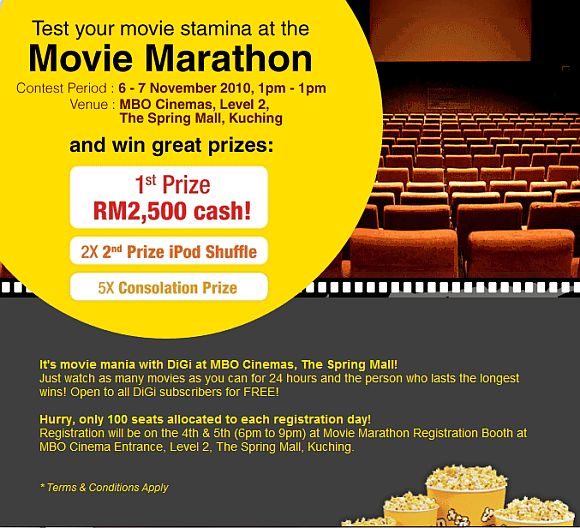 DiGi 24-hour movie marathon