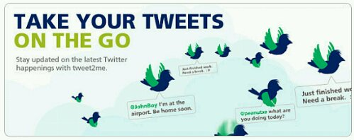 Maxis offers twitter updates via sms