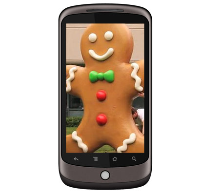 Gingerbread coming to Nexus One in couple of days