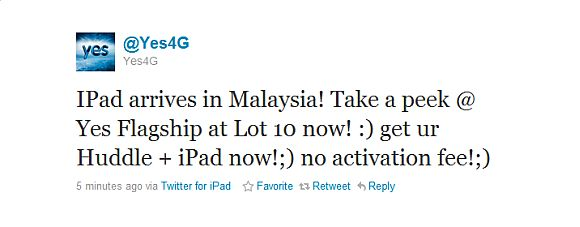 Yes 4G offering an iPad bundle plan?