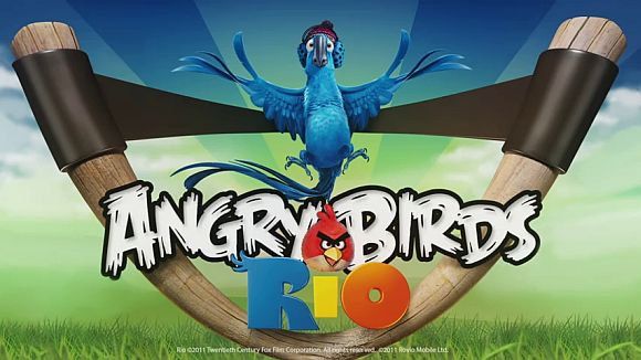 Coming to app stores everywhere: Angry Birds Rio