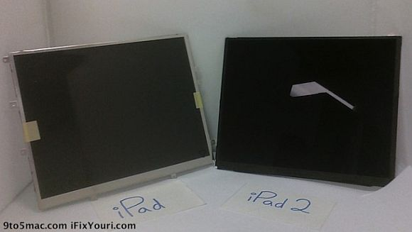 Leaked photos revealed the Retina Display on iPad 2 very unlikely