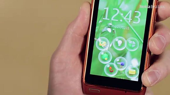 Nokia Bubbles offers a different phone unlocking experience