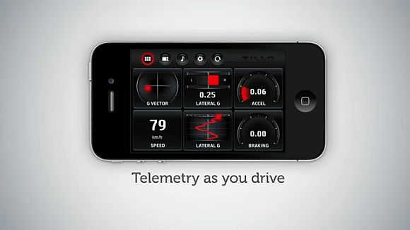 Get Nissan GTR-like telemetry for your car with just one iPhone app