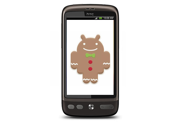 HTC Desire to get Gingerbread update?