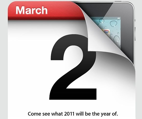 March 2 launch for iPad 2 CONFIRMED