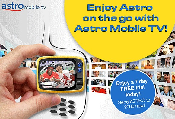 DiGi offers Astro Mobile TV on your mobile