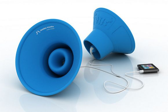 Tembo Trunks: Indestructable portable amplifiers for your iDevice