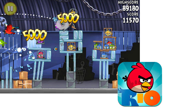Angry Birds Rio available now for iPhone and iPad
