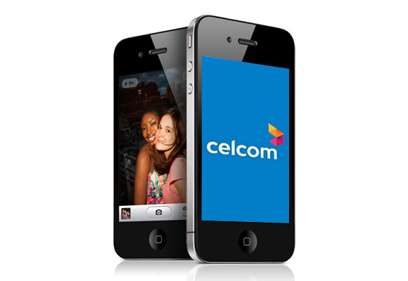 Celcom launches Exclusive White iPhone 4 with Best Plans