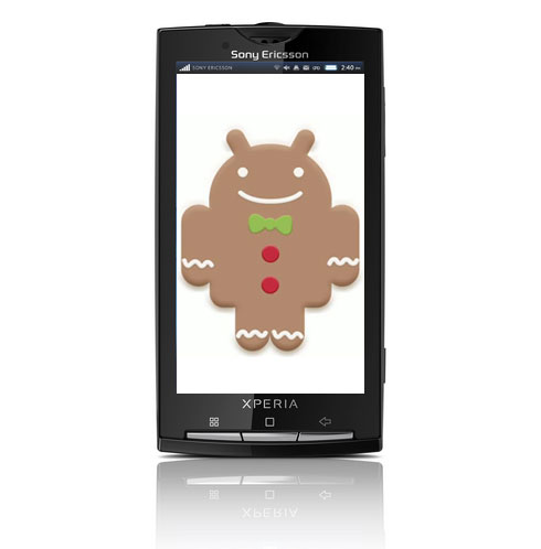 Sony Ericsson Xperia X10 to receive Gingerbread update