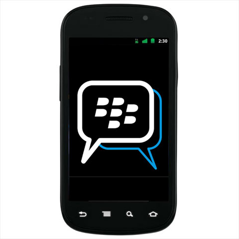 RIM to extend BlackBerry Messenger to Android and iOS
