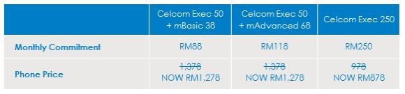 Celcom LG Optimus 2X Plans