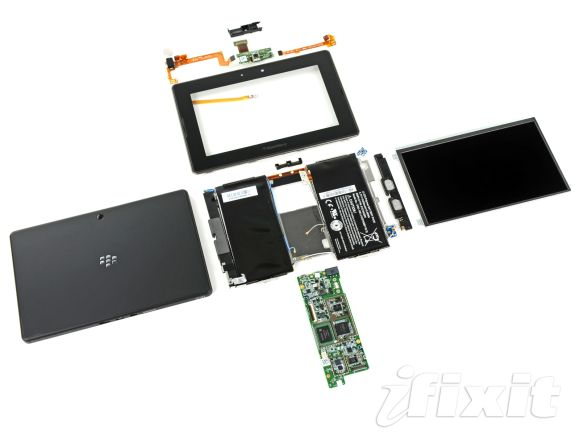 BlackBerry PlayBook gets iFixit teardown treatment