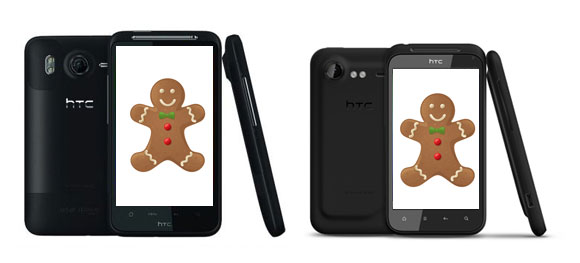 HTC Desire HD & Incredible S to get Gingerbread real soon