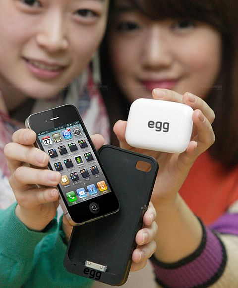KT Egg Sleeve brings 4G Connectivity to the iPhone 4