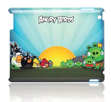 Angry Birds themed iPad 2 covers from Machines