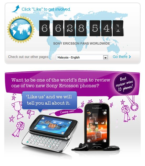 Sony Ericsson launches global competition to find ultimate reviewer on Facebook