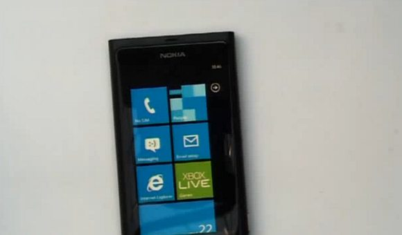 First sighting of Nokia Windows Phone 7