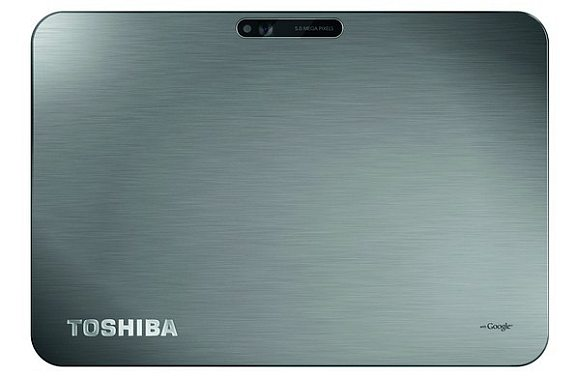 Toshiba new 10.1″ Honeycomb Tablet with 7.7mm thickness and 558g weight
