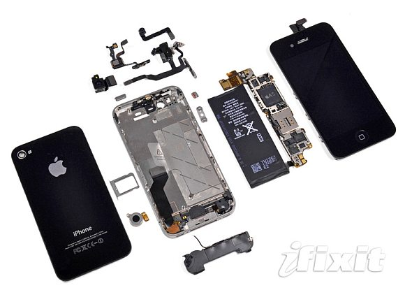iPhone 4S torn down by iFixit
