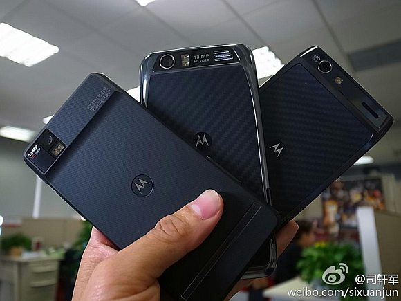 China gets more RAZRs with higher specs