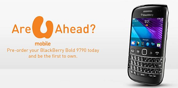 U Mobile BlackBerry Bold 9790 bundling offer revealed