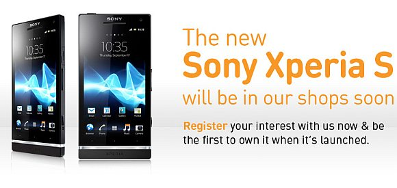 U Mobile starts ROI of Sony Xperia S