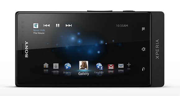 Introducing Sony Xperia sola with floating touch