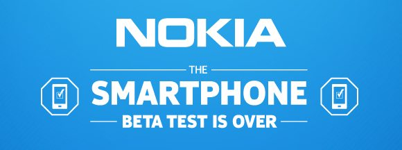 Nokia says the Smart Phone beta test is over
