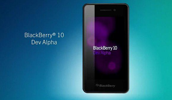 RIM reveals BlackBerry 10 and Dev Alpha device