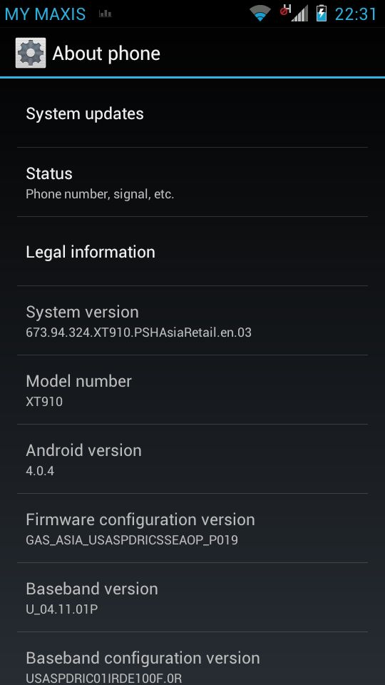 Android 4.0 ICS for Motorola RAZR users Malaysia coming soon