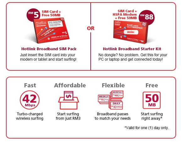 New Hotlink Prepaid Broadband Up To Mbps SoyaCincaucom - Prepaid home internet plans