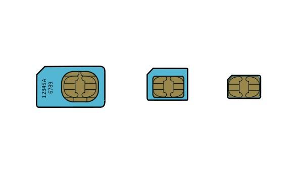 Standard Micro SIM can't be cut into Nano SIM