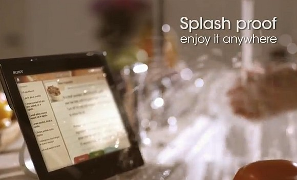 Sony offers solution for Xperia Tablet S water resistant issue