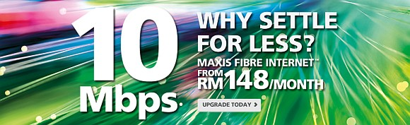 Maxis Home Internet fibre