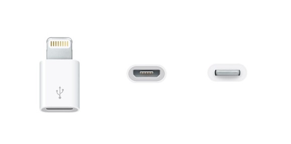 Apple introduces Lightning to micro USB adapter