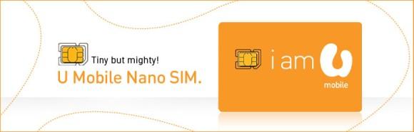 U Mobile Nano SIM