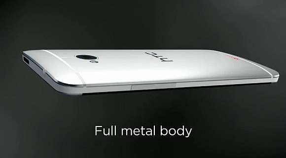 New HTC One officially revealed – Big on Display, Sound and Camera in an aluminium body