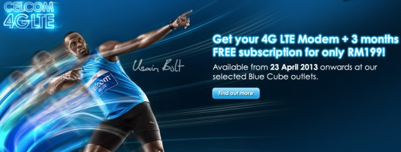 Celcom launches 4G LTE broadband service with download speeds up to 50Mbps