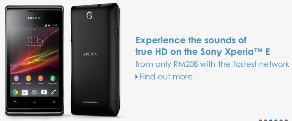 Celcom offers Sony Xperia E from RM208